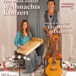 Erste Konzerttournee gemeinsam mit Julia Domenica – Plakat zur Weihnachtstournee 2013